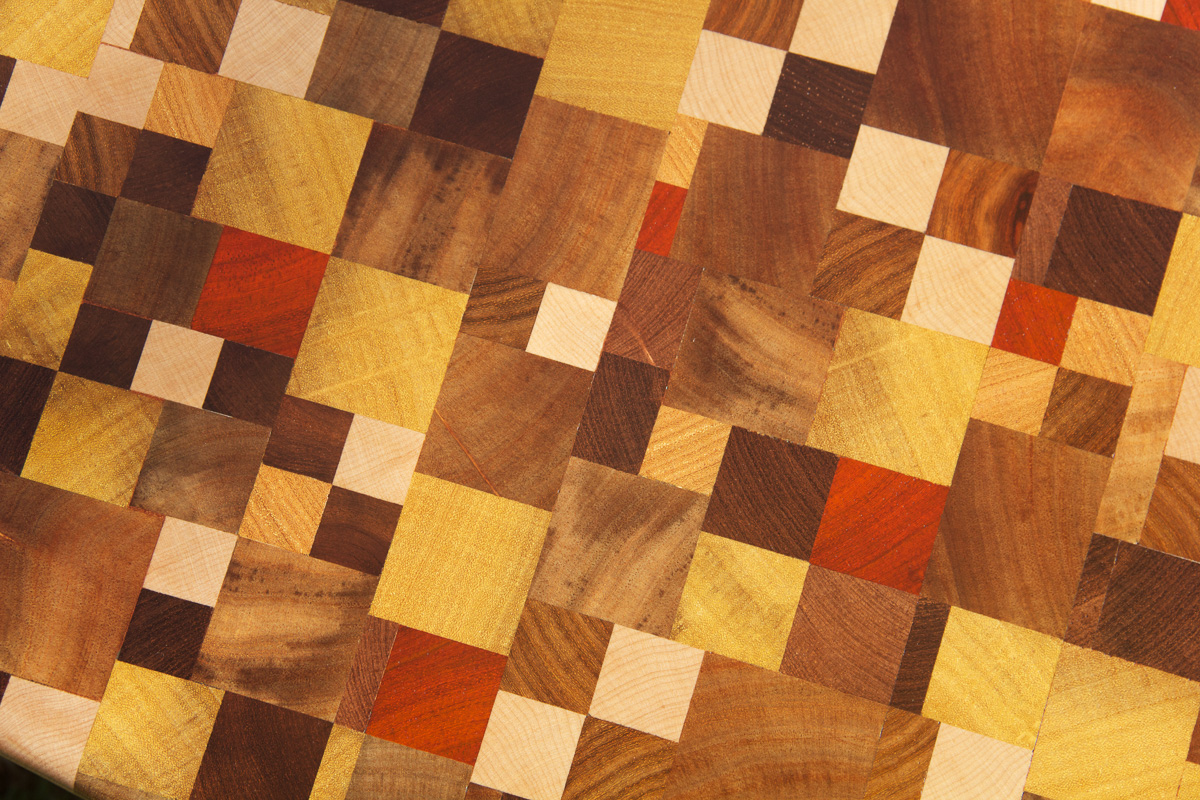 b niko table basse en mosa que de cubes de bois. Black Bedroom Furniture Sets. Home Design Ideas